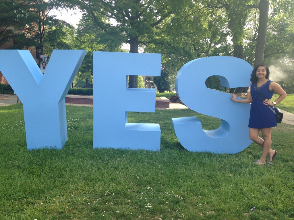 Spelman-College-Yes-Sign