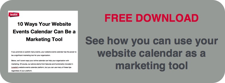 Download 10 ways your website calendar can be a marketing tool