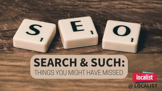 SEO, Search & Such